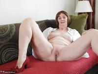 Kat Kitty. Red sofa teasing Free Pic 5