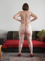 Kat Kitty. Red sofa teasing Free Pic 14