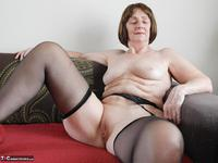 Kat Kitty. Stockings and suspenders Free Pic 6
