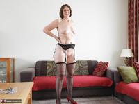 Kat Kitty. Stockings and suspenders Free Pic 14