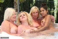 Melody. Lesbo Hot Tub Orgy Pt3 Free Pic 1