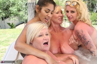 Melody. Lesbo Hot Tub Orgy Pt3 Free Pic 13