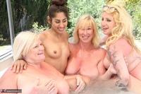Melody. Lesbo Hot Tub Orgy Pt3 Free Pic 20