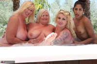 Melody. Lesbo Hot Tub Orgy Pt2 Free Pic 2