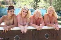 Melody. Lesbo Hot Tub Orgy Pt2 Free Pic 6