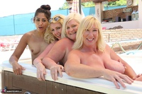Melody. Lesbo Hot Tub Orgy Pt2 Free Pic 10