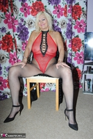 PlatinumBlonde. Red Fishnet Pt1 Free Pic 1