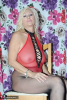PlatinumBlonde. Red Fishnet Pt1 Free Pic 8