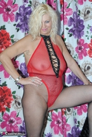 PlatinumBlonde. Red Fishnet Pt1 Free Pic 10