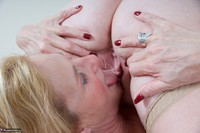 Molly MILF. On The Bed With Lily May Pt2 Free Pic 6