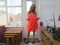 Lily May. Lily In Her Little Orange Dress Free Pic 6
