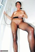 Raunchy Raven. Raven Pantyhose Shower Free Pic 12