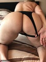 Sweet Susi. Black String & Dildo Free Pic 9