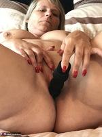 Sweet Susi. Black String & Dildo Free Pic 15