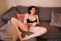 Juicey Janey. Naughty Black Wet Look Basque Pt2 Free Pic 6