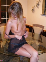 KissAlissa. Black Nighty In The Kitchen Free Pic 4