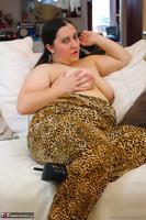 Kimberly Scott. Leopard Print Safari Jump Suit Pt2 Free Pic 8
