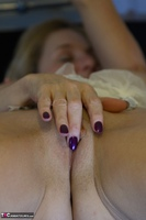 Molly MILF. French White Lingerie Free Pic 7