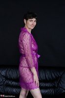 Hot Milf. Purple Negligee Free Pic 2