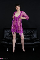 Hot Milf. Purple Negligee Free Pic 6