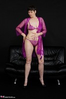 Hot Milf. Purple Negligee Free Pic 7