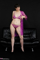 Hot Milf. Purple Negligee Free Pic 8