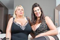 LuLu Lush. Lesbo Oily Fun On The Bed Free Pic 2
