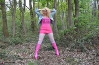 Barby Slut. Barby Pink In White Tights Free Pic 3