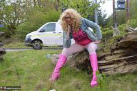 Barby Slut. Barby Pink In White Tights Free Pic 13