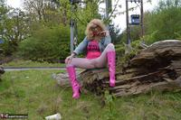 Barby Slut. Barby Pink In White Tights Free Pic 14
