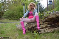 Barby Slut. Barby Pink In White Tights Free Pic 15