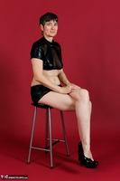 Hot Milf. Wetlook Top & Skirt Free Pic 1