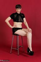 Hot Milf. Wetlook Top & Skirt Free Pic 2