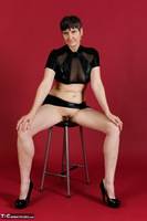 Hot Milf. Wetlook Top & Skirt Free Pic 3