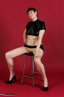 Hot Milf. Wetlook Top & Skirt Free Pic 5