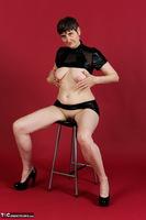 Hot Milf. Wetlook Top & Skirt Free Pic 7