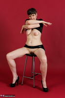 Hot Milf. Wetlook Top & Skirt Free Pic 8
