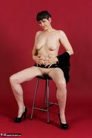 Hot Milf. Wetlook Top & Skirt Free Pic 9