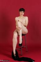 Hot Milf. Wetlook Top & Skirt Free Pic 12