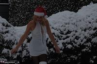 Kyras Nylons. Kyra In The Snow Free Pic 5