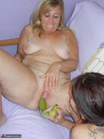 LavenderRayne. Going Bananas with my lesbian girlfriend Lisa Free Pic 6