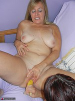 Lavender Rayne. Going Bananas with my lesbian girlfriend Lisa Free Pic 11
