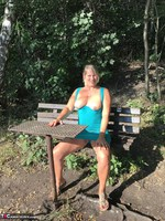 Sweet Susi. On The Bench By The Lake Free Pic 1