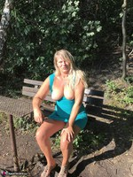 Sweet Susi. On The Bench By The Lake Free Pic 9