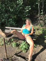 Sweet Susi. On The Bench By The Lake Free Pic 10