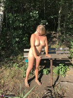 Sweet Susi. On The Bench By The Lake Free Pic 12