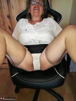 . Secretary's Sheer Nylons Free Pic 8