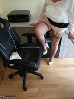 . Secretary's Sheer Nylons Free Pic 12