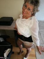 . Secretary's Sheer Nylons Free Pic 18
