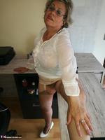 . Secretary's Sheer Nylons Free Pic 19